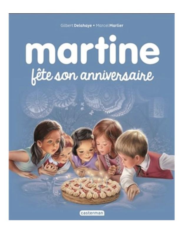Martine Fête son anniversaire - Delahaye