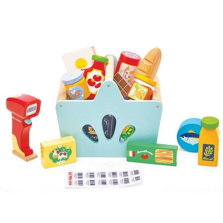Le Toy van Toy van - Panier Complet de courses et scanner