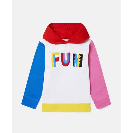 Stella McCartney Stella McCartney - Kid girl colorblock hoodie