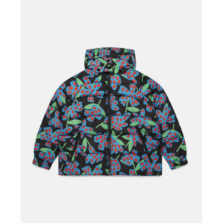 Stella McCartney Stella McCartney - Kid girl spotty flowers puffer jacket
