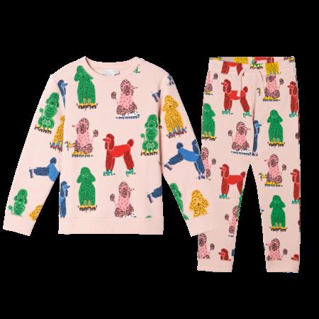 Stella McCartney Stella McCartney - Baby girl 2 piece poodle sweatsuit set