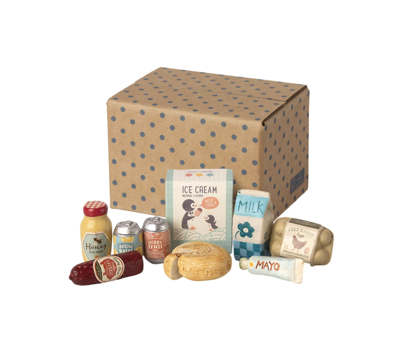 Maileg - Miniature grocery box
