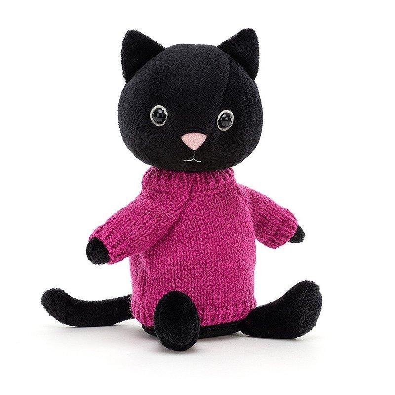 Jellycat Jellycat - Knitten Kitten Fuschia
