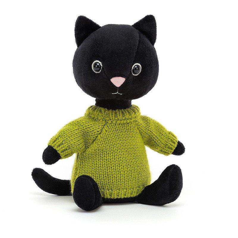 Jellycat Jellycat - Knitten Kitten Lime