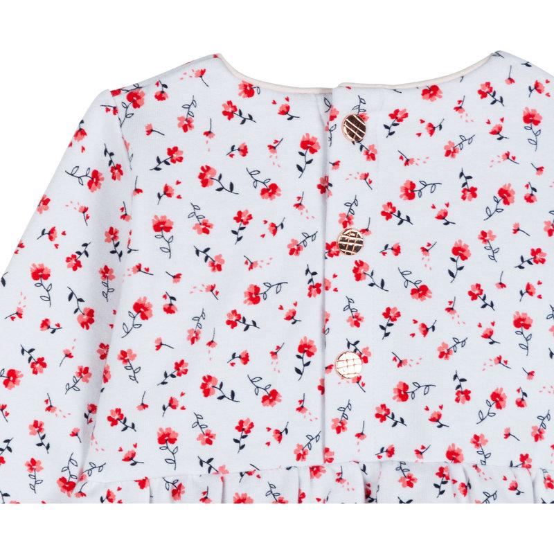 Carrement Beau Carrément Beau - Long Sleeved Flower Dress