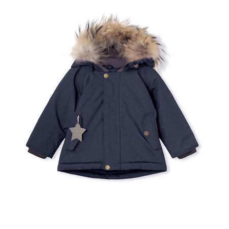 Mini A Ture Mini A Ture - Manteau d'hiver Wally + Salopette Witte