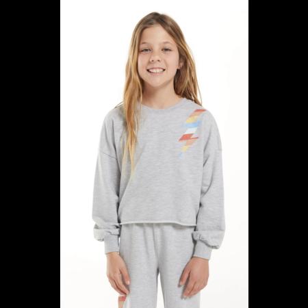Z Supply Z Supply - Girls Kira Bolt Sweatshirt