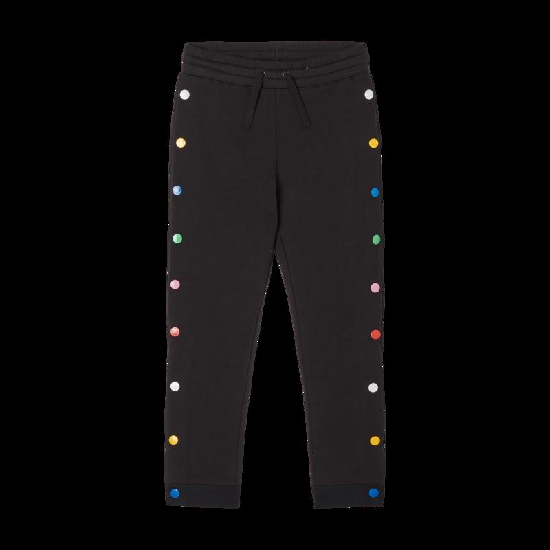 Stella McCartney Stella McCartney - Kid sweatpants rainbow snap