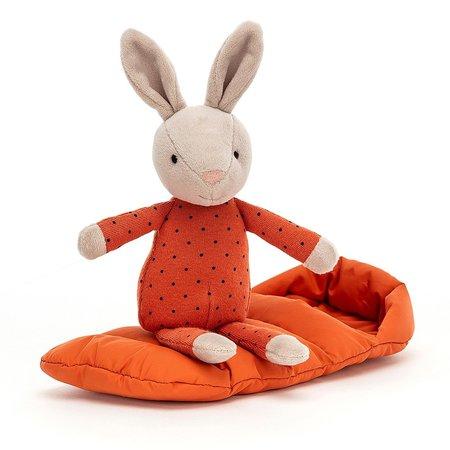 Jellycat Jellycat - Sleeping Bag Snuggler Bunny