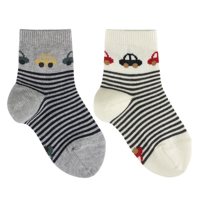 Condor - Courtes Car Short Socks Ecru