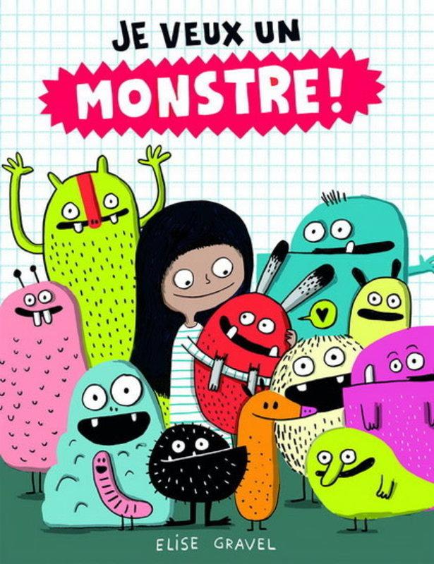 Scholastic Je veux un monstre