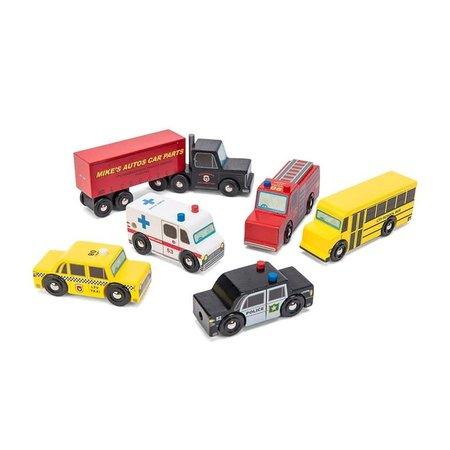 Le Toy van Toy Van- Ensemble de voitures américaines
