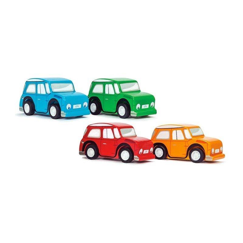 Le Toy van Toy Van- WHIZZY PULL BACK CARS