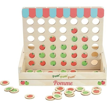 Vilac Vilac - Game - Four Apples In A Row