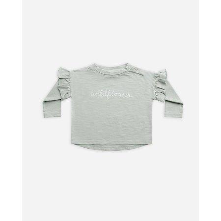 Rylee & Cru - T-Shirt Manches Longues Volant