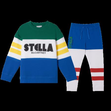 Stella McCartney Stella McCartney - Coloblock logo tracksuit