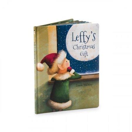 Jellycat Jellycat - Leffy's Christmas Gift Book