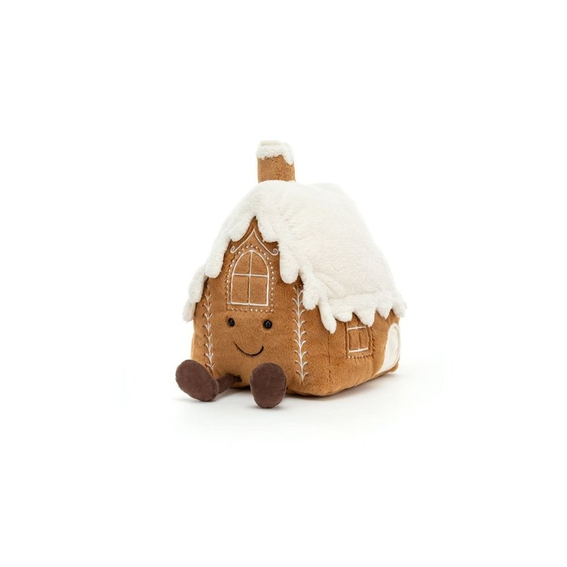 Jellycat Jellycat- Amuseable Gingerbread House Large