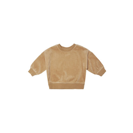 Quincy Mae Quincy Mae - Drop Shoulder Sweatshirt Velour