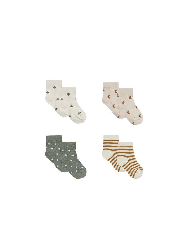 Quincy Mae Quincy Mae - Printed Sock Set