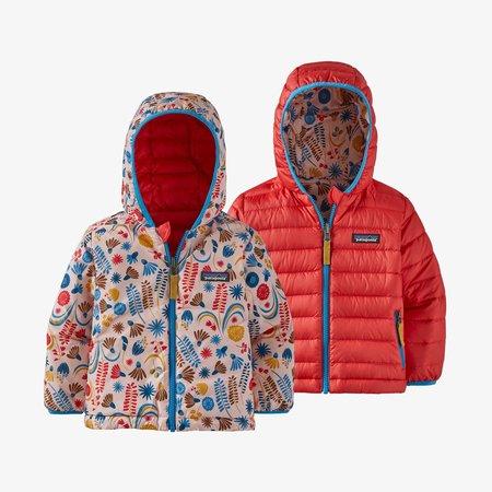 Patagonia Patagonia - Baby reversible down sweater hoody