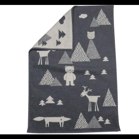 David Fussenegger - Velvet Kids in the wood Blanket