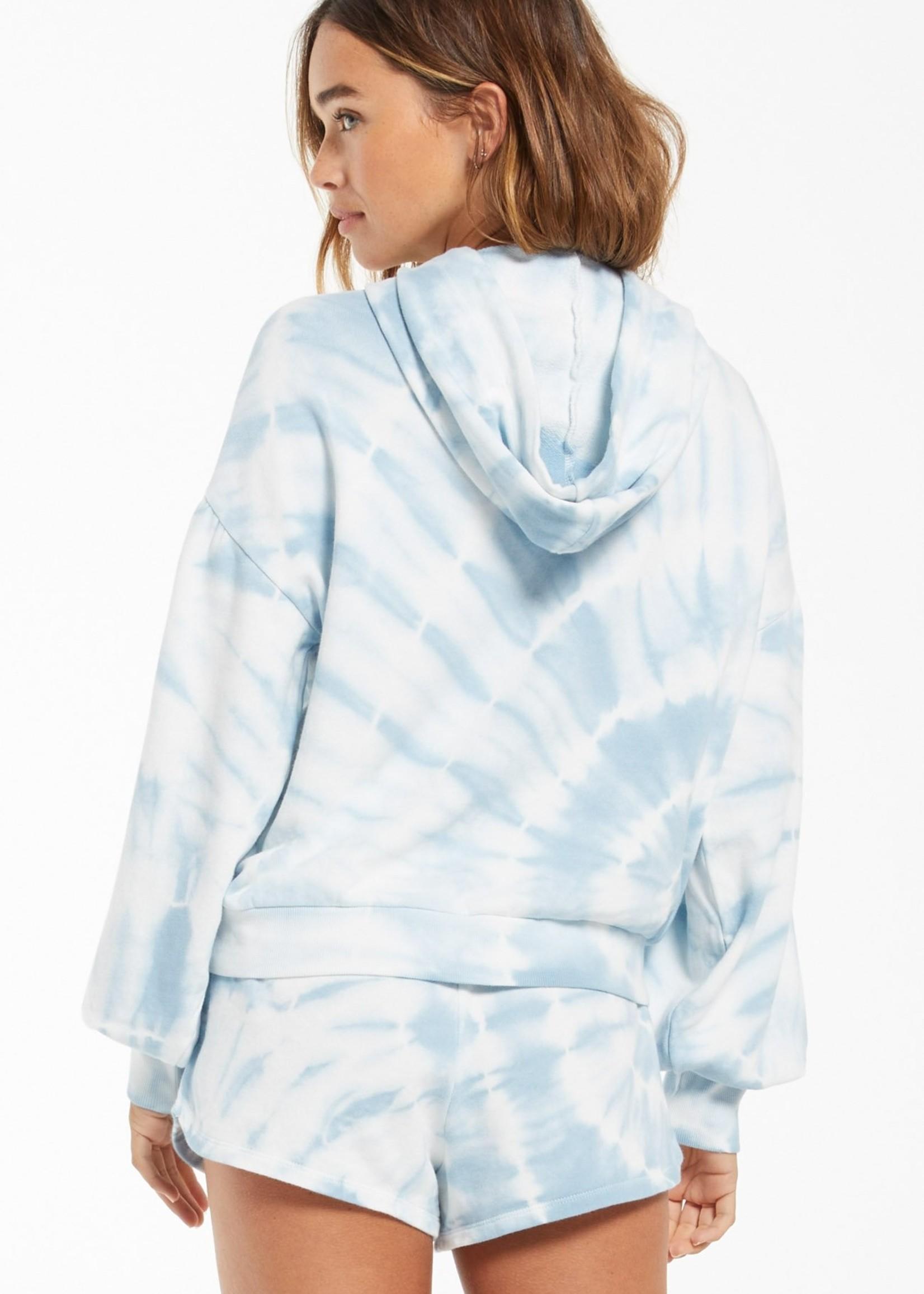 Z Supply Z Supply Eva Spiral Tie-Dye Hoodie