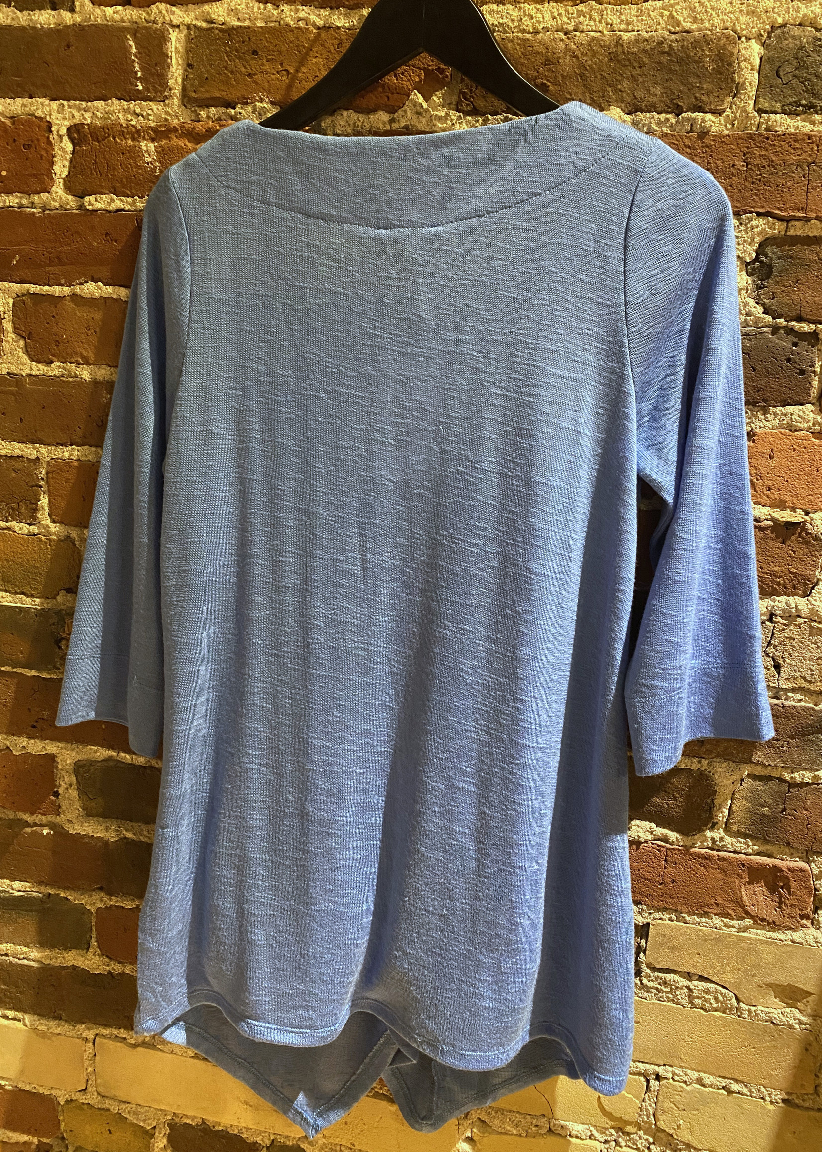 Marble Marble Blue Knit Tunic