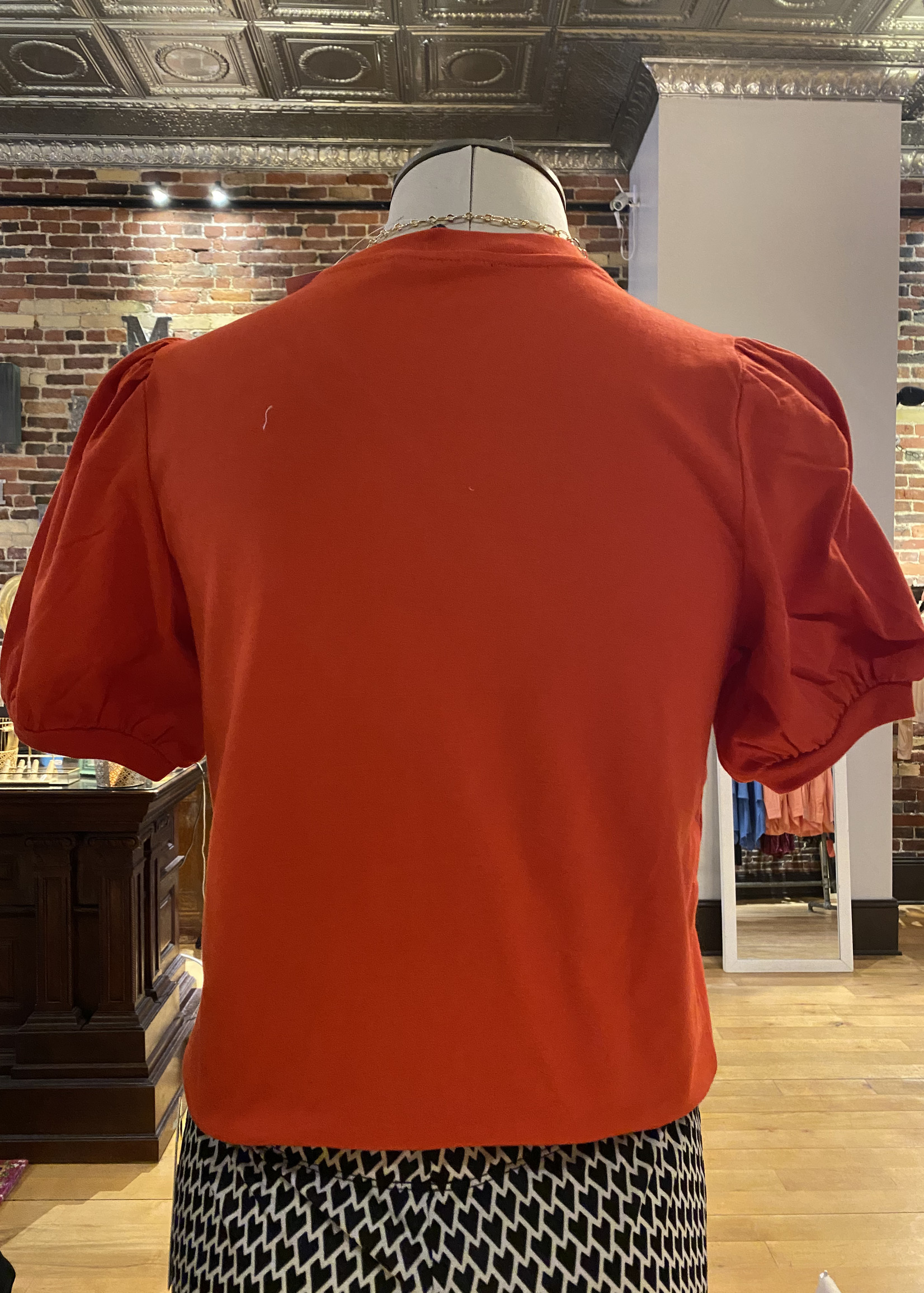 French Connection French Connection Jersey Puff Sleeve