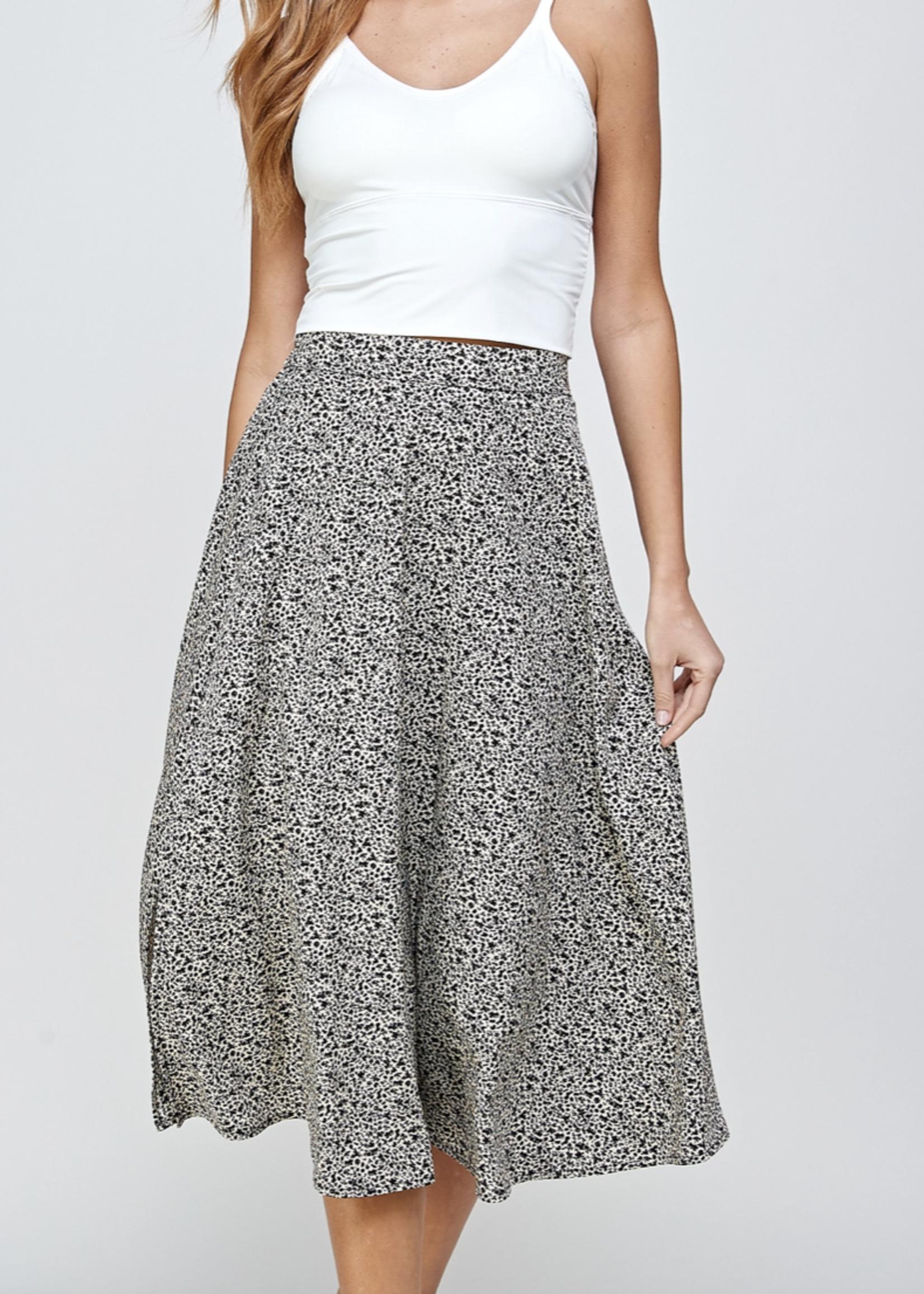 Ellison Midi Floral Skirt