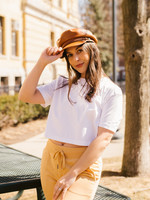 French Connection Sahana Jersey Crop Top