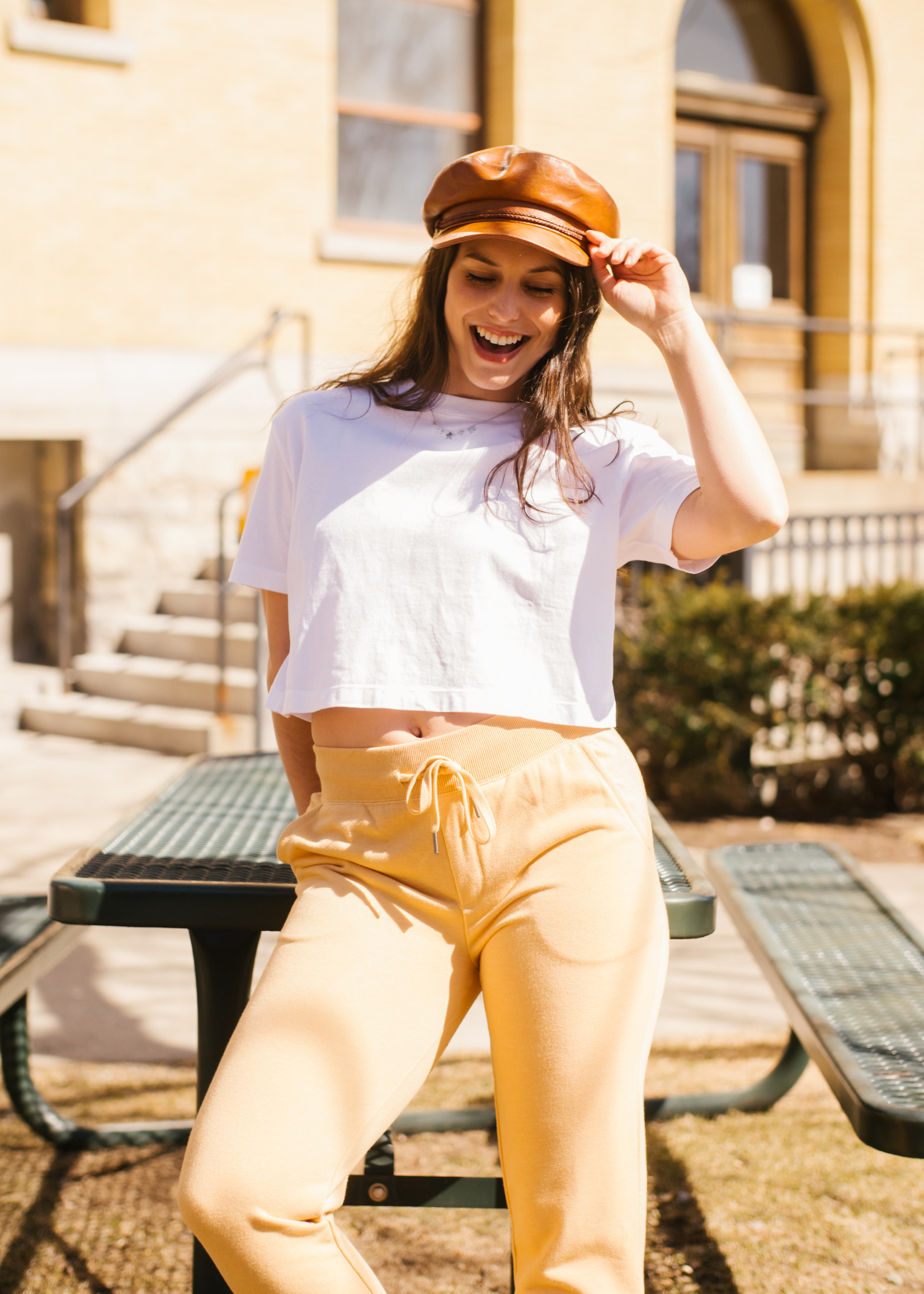 French Connection French Connection Sahana Jersey Crop Top