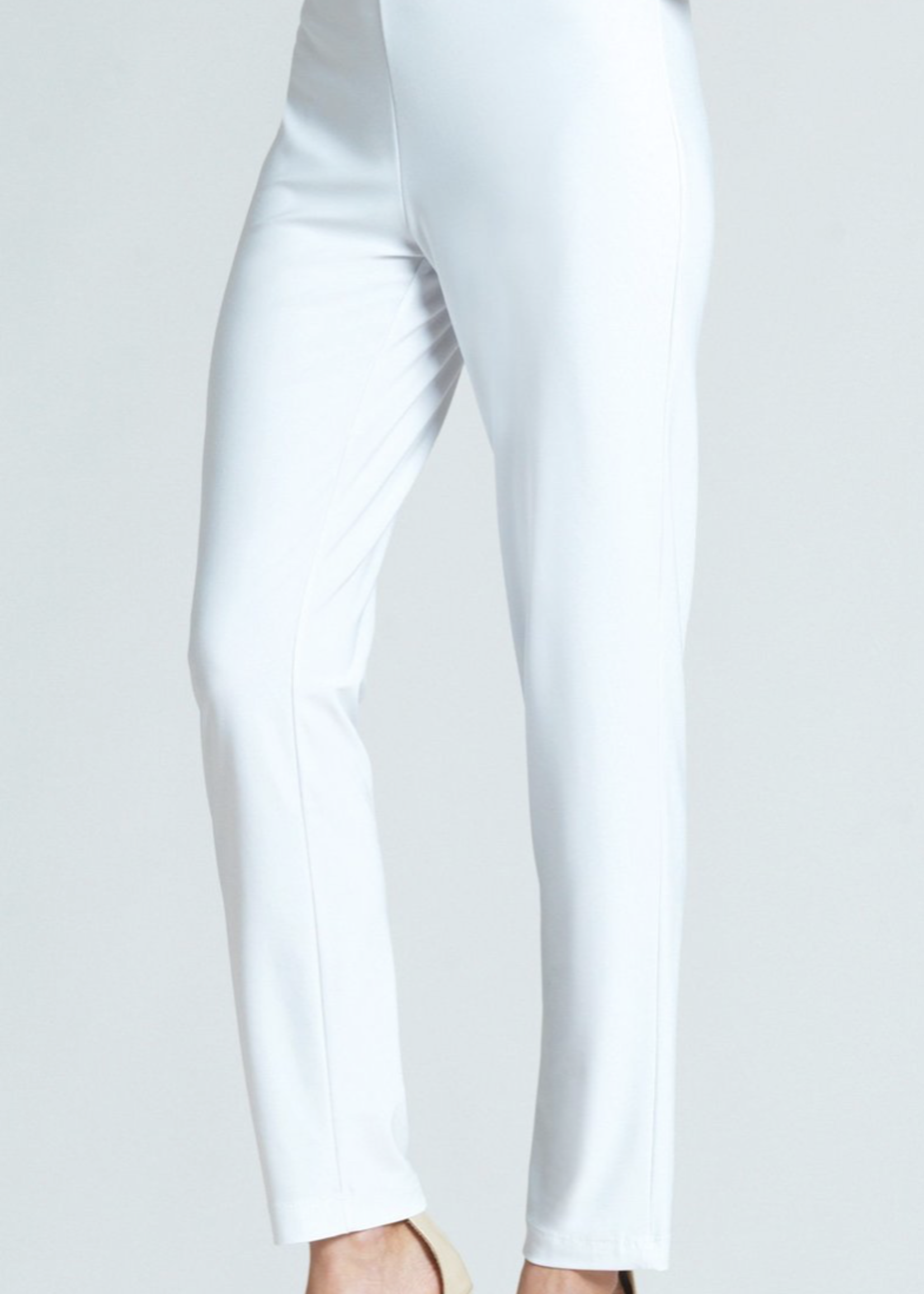Clara Sunwoo Clara Sunwoo White Knit Straight Leg Pant