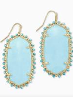 Kendra Scott Beaded Danielle Earring Turquoise