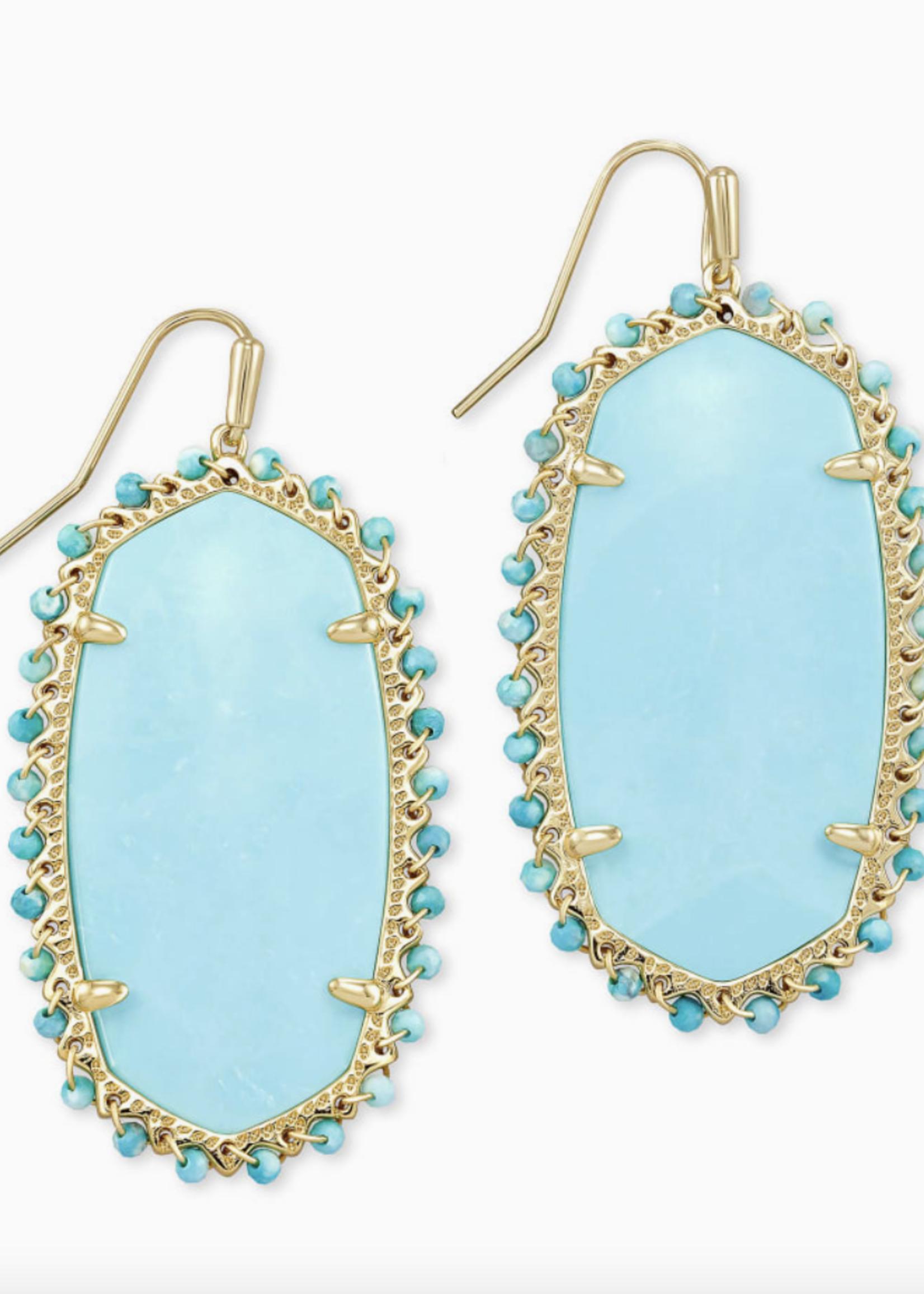 Kendra Scott Kendra Scott Beaded Danielle Earring Turquoise