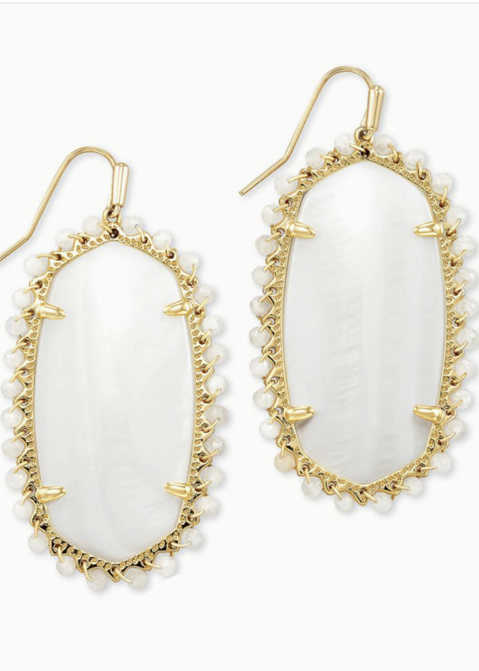 Kendra Scott Kendra Scott  Beaded Danielle Earring White