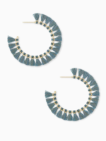 Kendra Scott Evie Hoop Turquoise