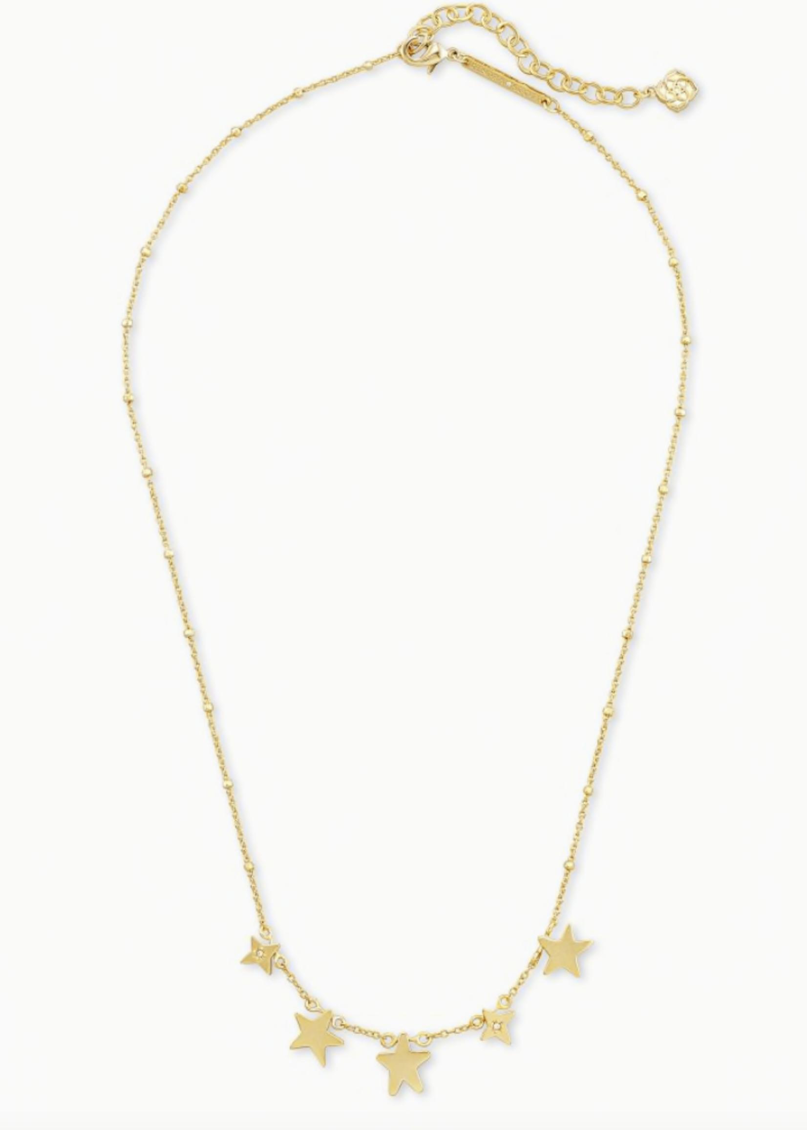 Kendra Scott Kendra Scott Jae Star Choker Necklace Gold