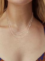 Kendra Scott Addison Multi Strand Necklace Rose Gold