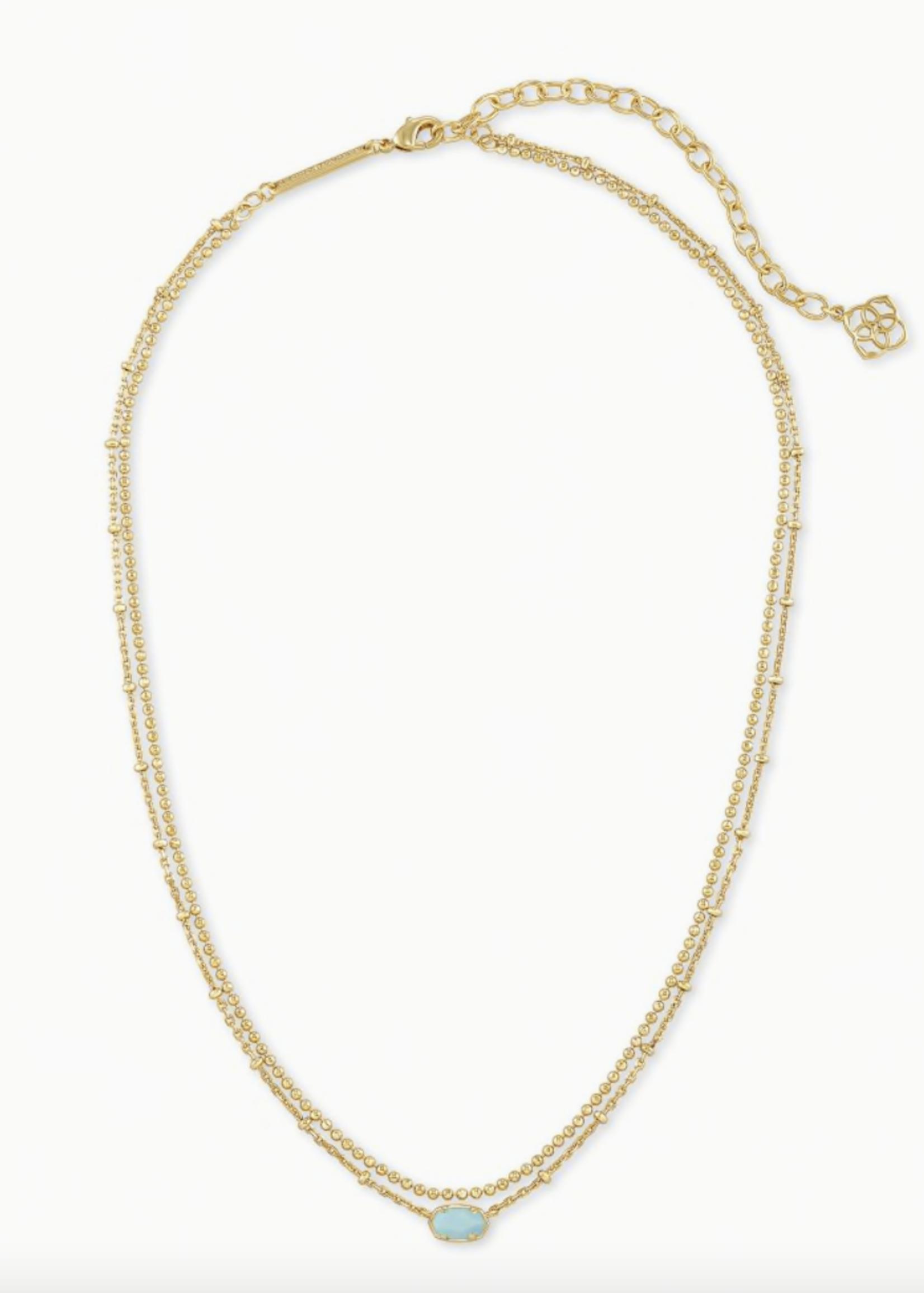 Kendra Scott Kendra Scott Emile Multi Strand Necklace Turquoise