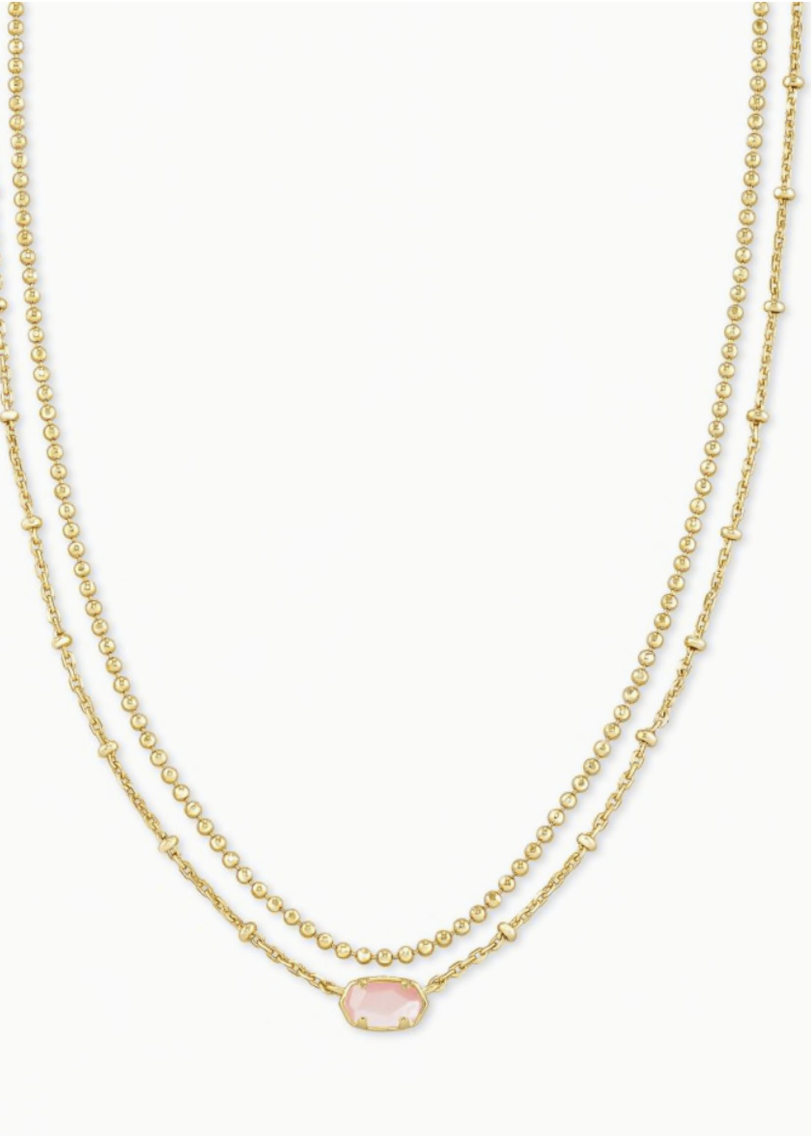 Kendra Scott Kendra Scott Emile Multi Strand Necklace Rose
