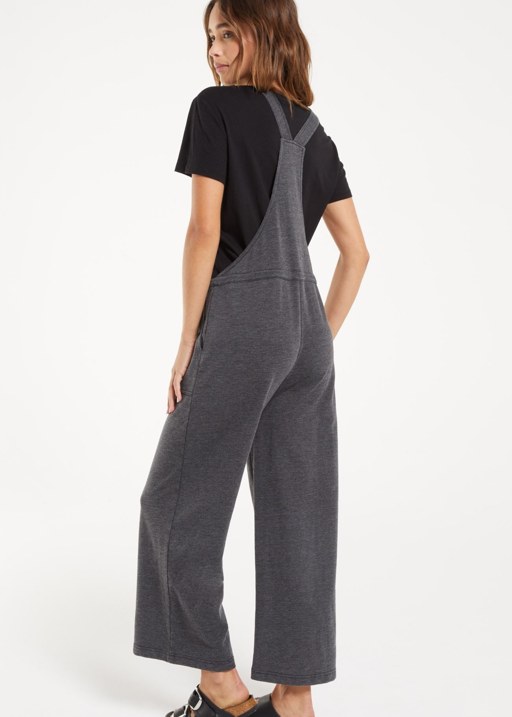 Z Supply Z Supply Cinched Waist Overalls