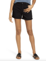 Jen7 Black Mid Roll Short