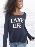 Wooden Ships Lake Life Cotton Crewneck