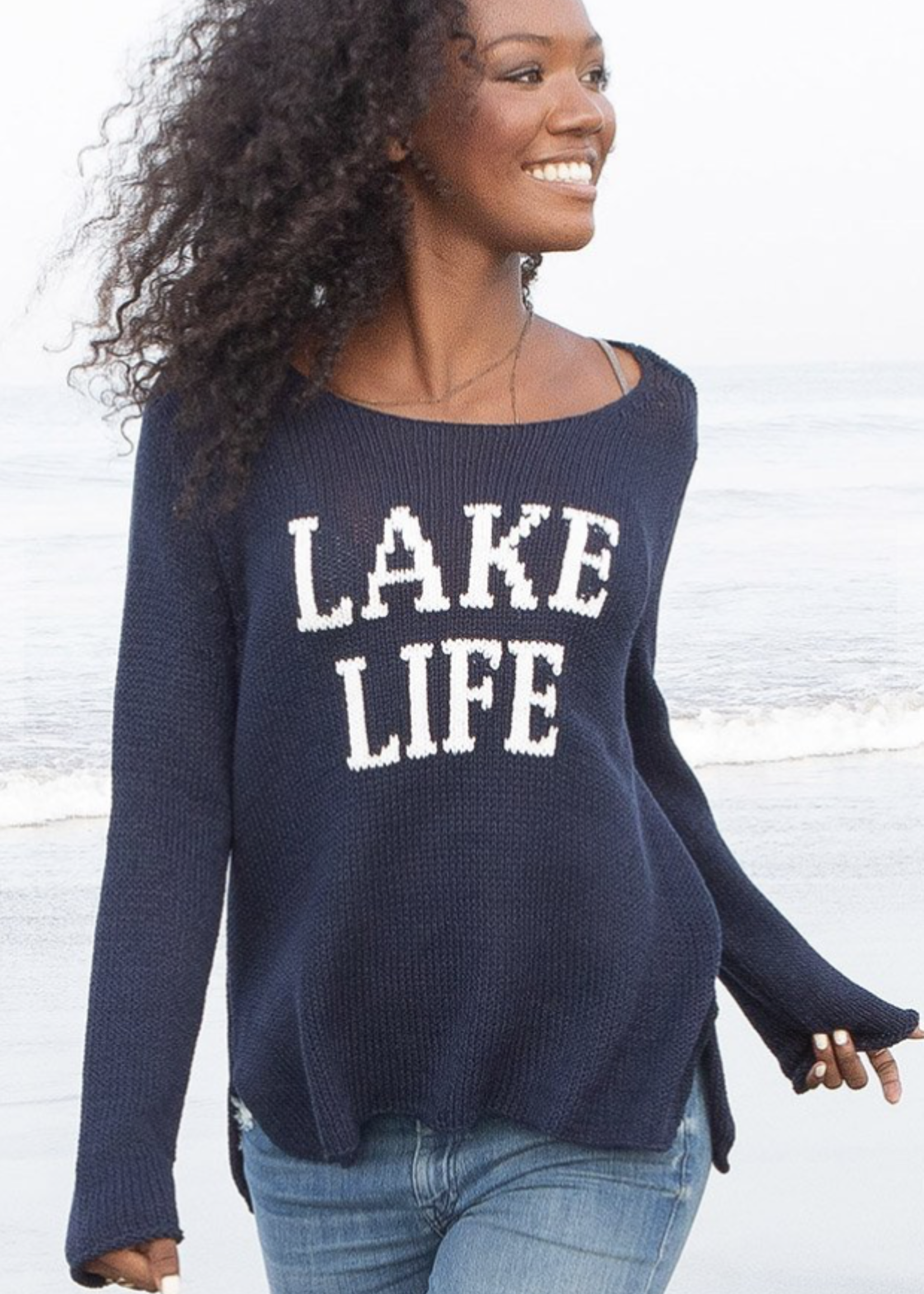 Wooden Ships Wooden Ships Lake Life Cotton Crewneck