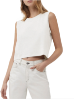 French Connection Organic Cotton Crop Tank