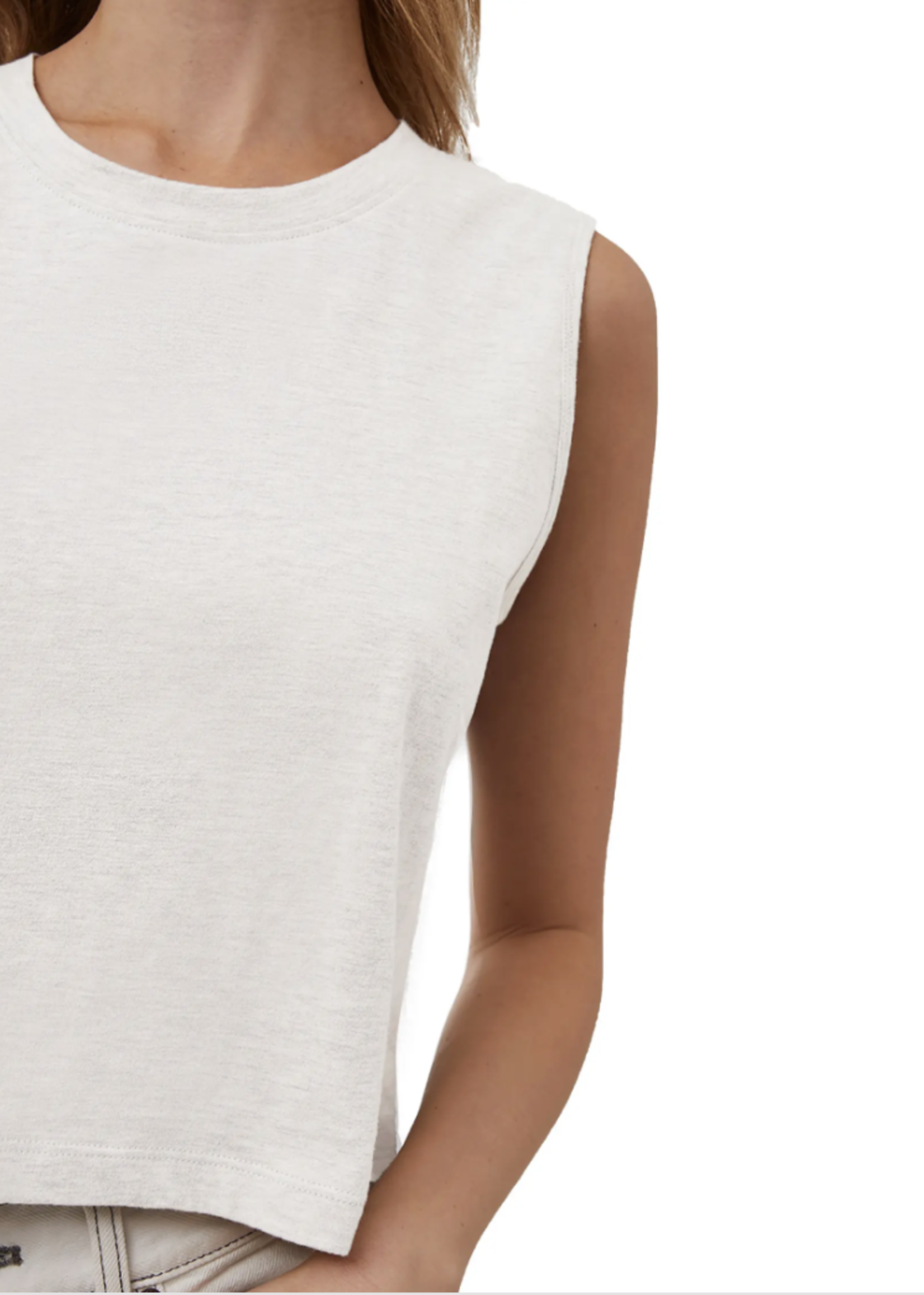 French Connection French Connection Organic Cotton Crop Tank