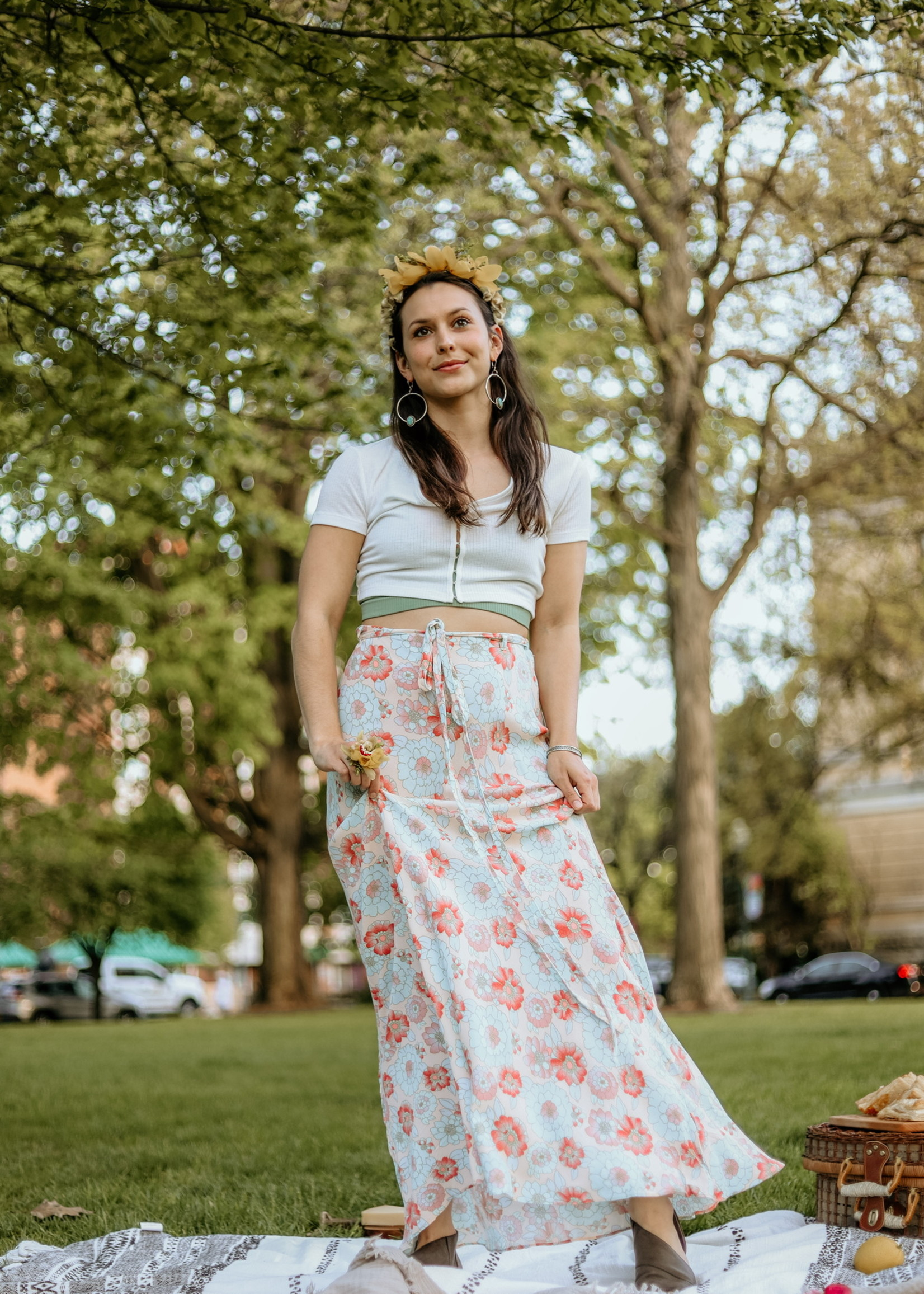 Free People Free People That's A Wrap Maxi Skirt