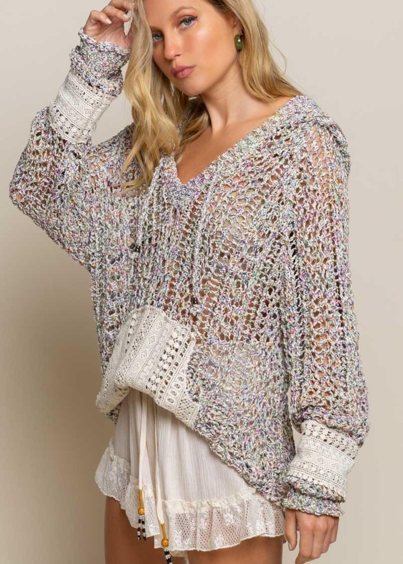 POL POL Fairground Sprinkle Lightweight Sweater