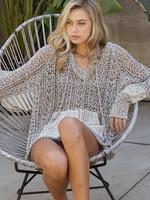 POL Fairground Sprinkle Lightweight Sweater